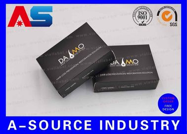 Trung Quốc Black Hot Stamp Embossed Gold Foil Pharmaceutical Packaging Box For Hormone Sex Leben nhà phân phối